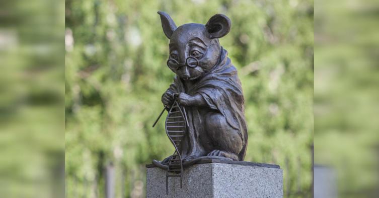 Kennt ihr schon dieses Monument, das zu Ehren aller Mäuse errichtet wurde?