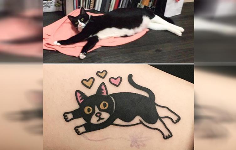 Euer Haustier als Tattoo: Diese Künstlerin macht's möglich