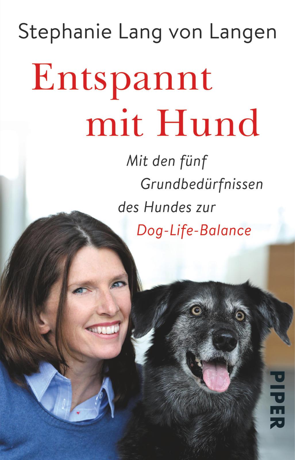 Buchtipp: Entspannt mit Hund von Stephanie Lang von Langen